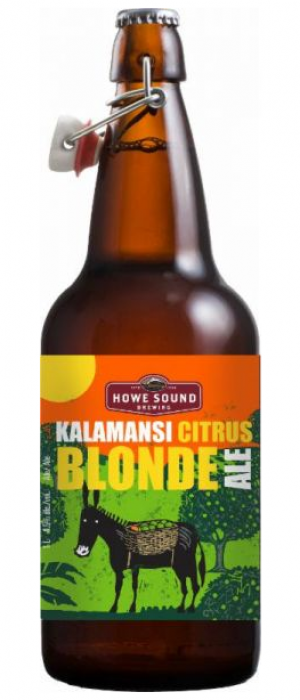 Kalamansi Citrus Blonde Ale by Howe Sound Brewing in British Columbia, Canada