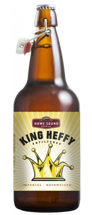 King Heffy by Howe Sound Brewing in British Columbia, Canada