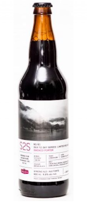Sea To Sky Smoked Porter by Howe Sound Brewing in British Columbia, Canada