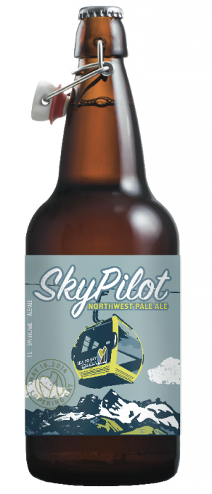 Sky Pilot Northwest Pale Ale by Howe Sound Brewing in British Columbia, Canada