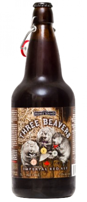 Three Beavers Imperial Red Ale