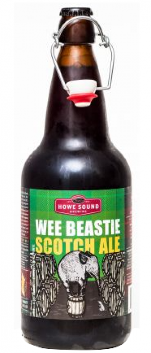 Wee Beastie Scotch Ale by Howe Sound Brewing in British Columbia, Canada