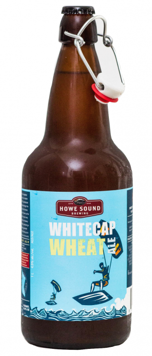 Whitecap Wheat Ale by Howe Sound Brewing in British Columbia, Canada