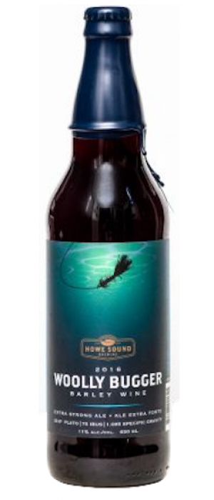 Woolly Bugger 2016 by Howe Sound Brewing in British Columbia, Canada