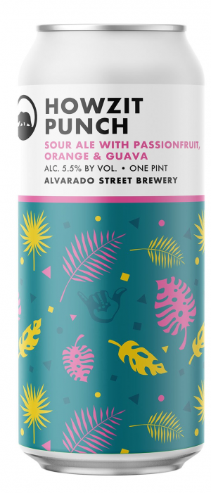 Howzit Punch by Alvarado Street Brewery in California, United States