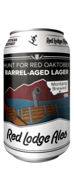 Hunt for Red Oaktober Barrel-Aged Lager by Red Lodge Ales Brewing Company in Montana, United States
