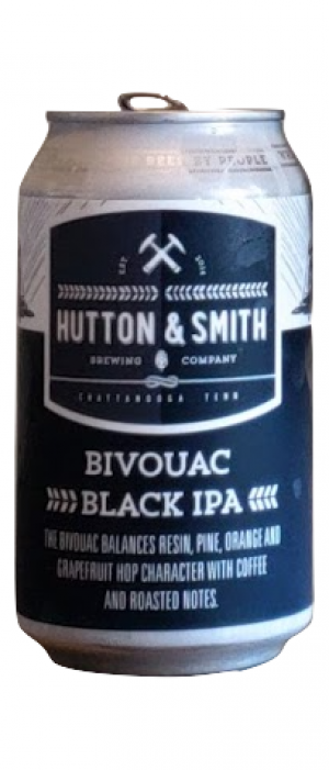 Bivouac Black IPA by Hutton & Smith Brewing Company in Tennessee, United States