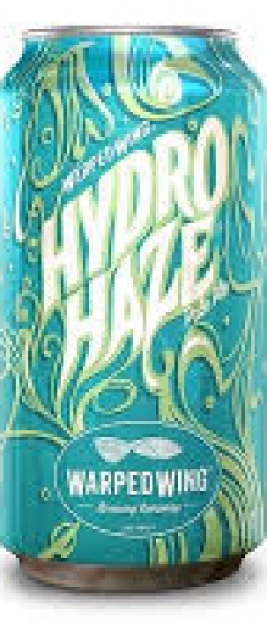 Hydro Haze by Warped Wing Brewing Company in Ohio, United States