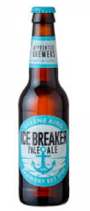 Ice Breaker Pale Ale by Greene King Brewery in Suffolk - England, United Kingdom