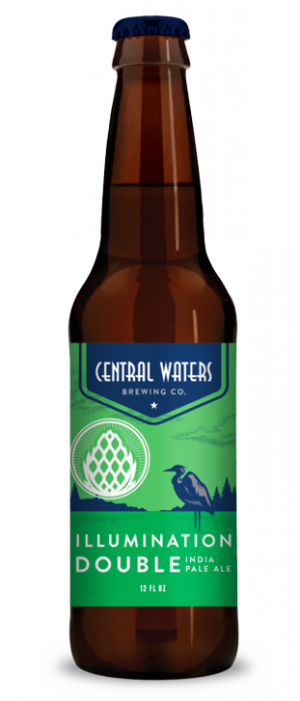 Illumination Double IPA by Central Waters Brewing Company in Wisconsin, United States