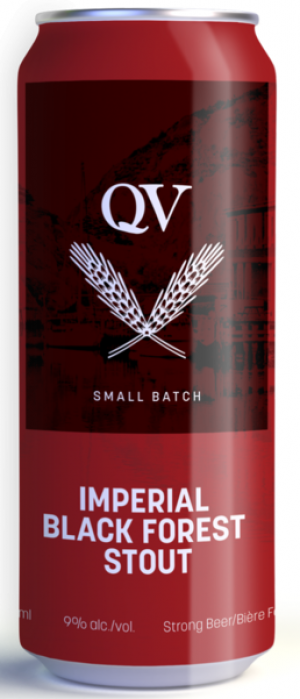 Imperial Black Forest Stout by Quidi Vidi Brewing Company in Newfoundland and Labrador, Canada