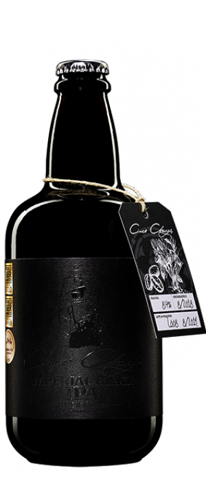 Imperial Black IPA by Cinco Chagas Craft Beer in Aveiro, Portugal