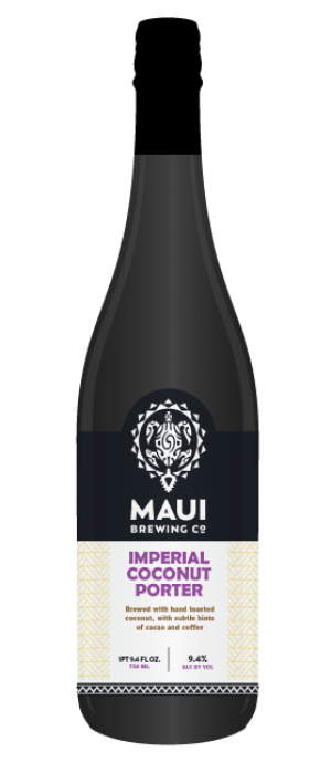 Imperial Coconut Porter by Maui Brewing Co. in Hawaii, United States