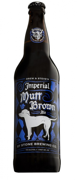 Imperial Mutt Brown Ale by Stone Brewing in California, United States