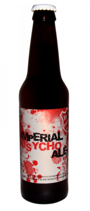 Imperial Psycho Ale IPA by Border Psycho Brewery in Baja California, Mexico