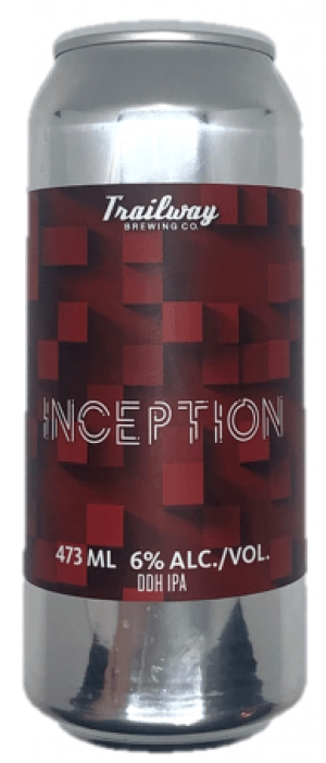 Inception by Trailway Brewing Co. in New Brunswick, Canada