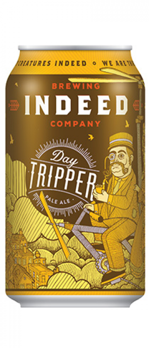 Day Tripper Pale Ale by Indeed Brewing Company in Minnesota, United States