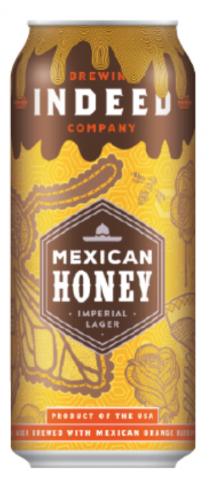Mexican Honey Imperial Lager by Indeed Brewing Company in Minnesota, United States