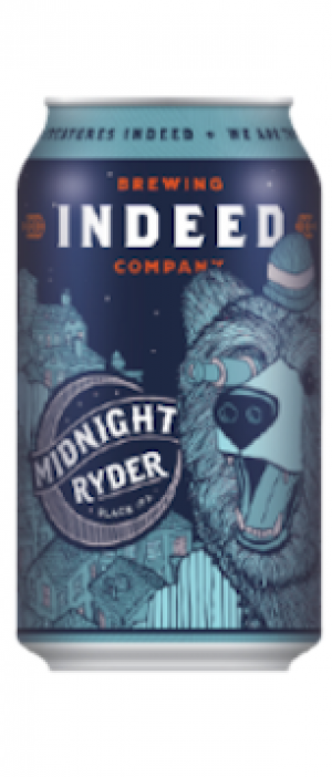 Midnight Ryder Black IPA by Indeed Brewing Company in Minnesota, United States