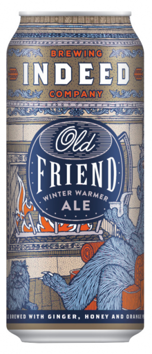 Old Friend Winter Warmer by Indeed Brewing Company in Minnesota, United States