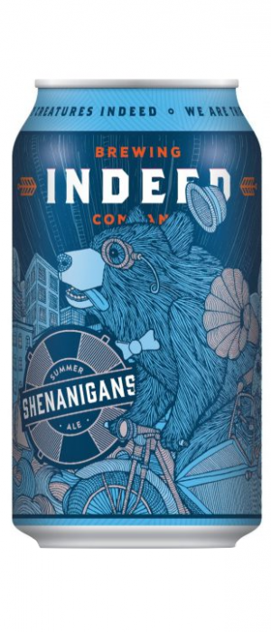 Shenanigans Summer Ale by Indeed Brewing Company in Minnesota, United States