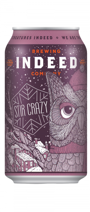 Stir Crazy Porter by Indeed Brewing Company in Minnesota, United States