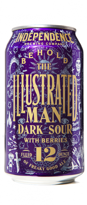 Illustrated Man by Independence Brewing Company in Texas, United States