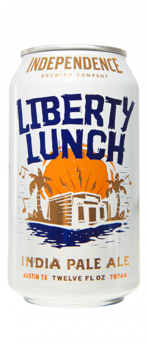 Liberty Lunch IPA by Independence Brewing Company in Texas, United States