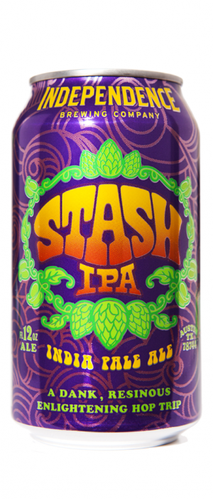 Stash IPA by Independence Brewing Company in Texas, United States