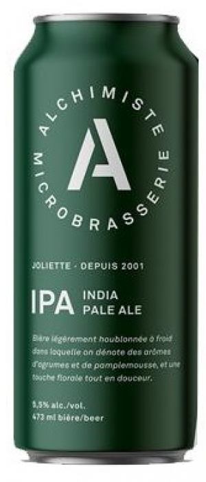 India Pale Ale by Microbrasserie L'Alchimiste in Québec, Canada