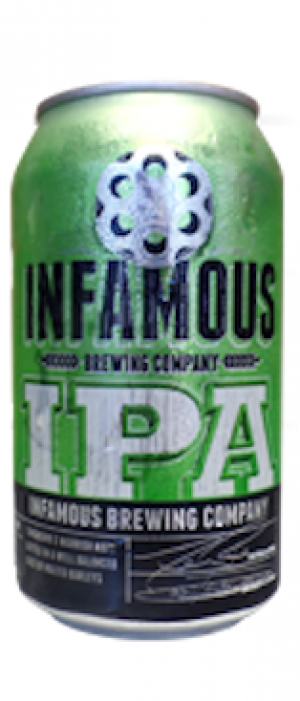 IPA by Infamous Brewing Company in Texas, United States
