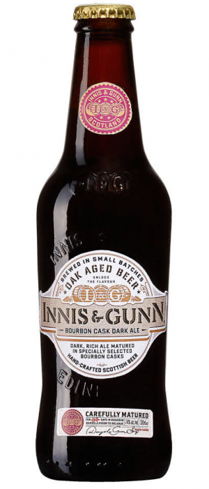 Bourbon Cask Dark Ale by Innis & Gunn in Edinburgh - Scotland, United Kingdom