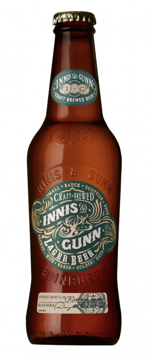 Lager Beer by Innis & Gunn in Edinburgh - Scotland, United Kingdom