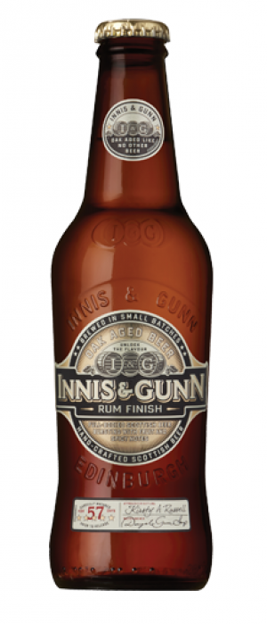Rum Finish by Innis & Gunn in Edinburgh - Scotland, United Kingdom