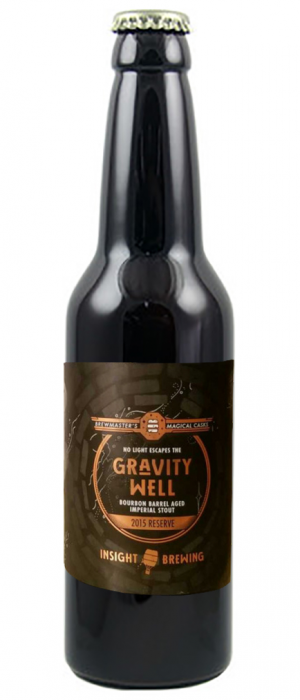 Bourbon Barrel Aged Gravity Well by Insight Brewing in Minnesota, United States