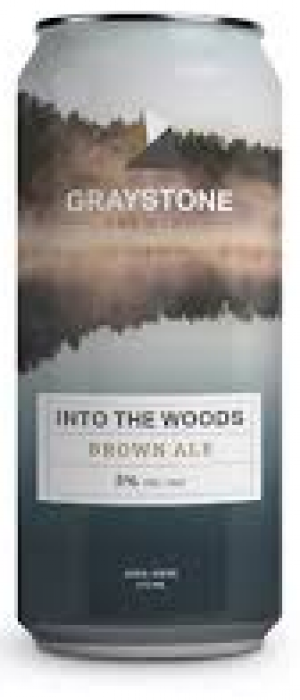 Into the Woods Brown Ale by Graystone Brewing in New Brunswick, Canada
