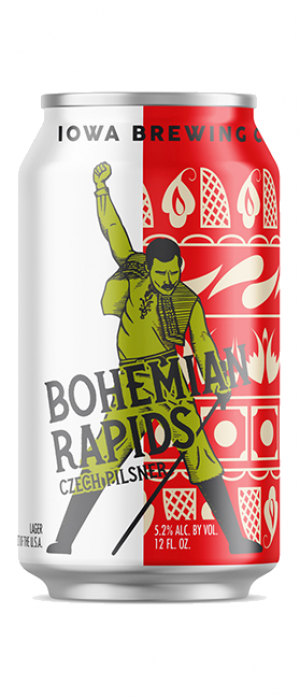 Bohemian Rapids by Iowa Brewing Company in Iowa, United States