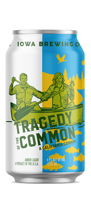 Tragedy of the Common by Iowa Brewing Company in Iowa, United States