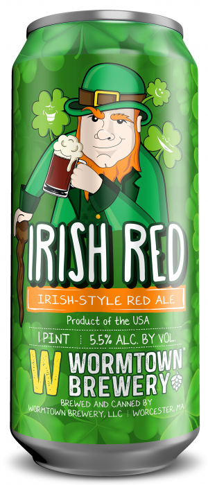 Irish Red by Wormtown Brewery in Massachusetts, United States