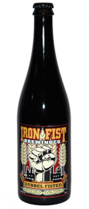 Dubbel Fisted by Iron Fist Brewing Company in California, United States