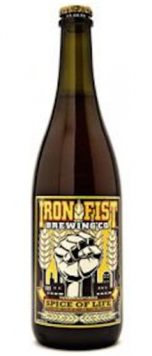 Spice Of Life by Iron Fist Brewing Company in California, United States