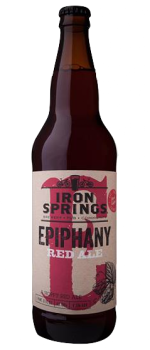 Epiphany Red Ale by Iron Springs Brewpub in California, United States