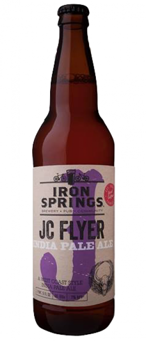 JC Flyer I.P.A. by Iron Springs Brewpub in California, United States