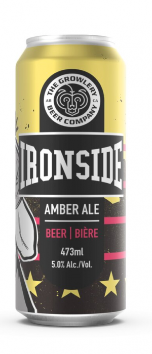 Ironside by The Growlery Beer Co. in Alberta, Canada