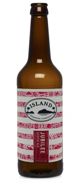 Jubilee Ale by Island Brewing Company in California, United States