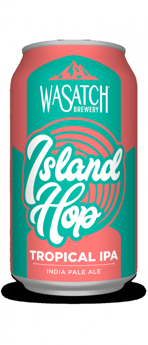Island Hop by Wasatch Brewery in Utah, United States