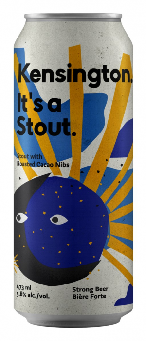 It's a Stout by Kensington Brewing Co. in California, United States