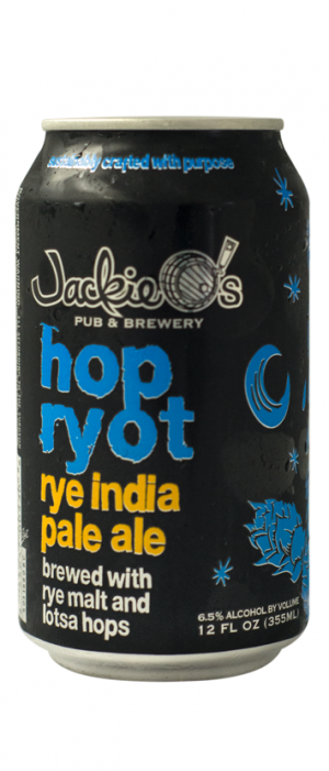 Hop Ryot IPA by Jackie O's Pub & Brewery in Ohio, United States