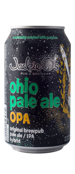 Ohio Pale Ale by Jackie O's Pub & Brewery in Ohio, United States