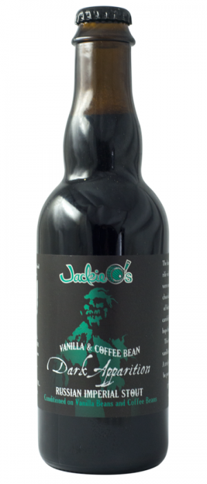 Vanilla & Coffee Bean Dark Apparition by Jackie O's Pub & Brewery in Ohio, United States